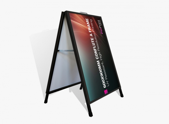 600x900mm Corflute Insert A Frame Sign Printing