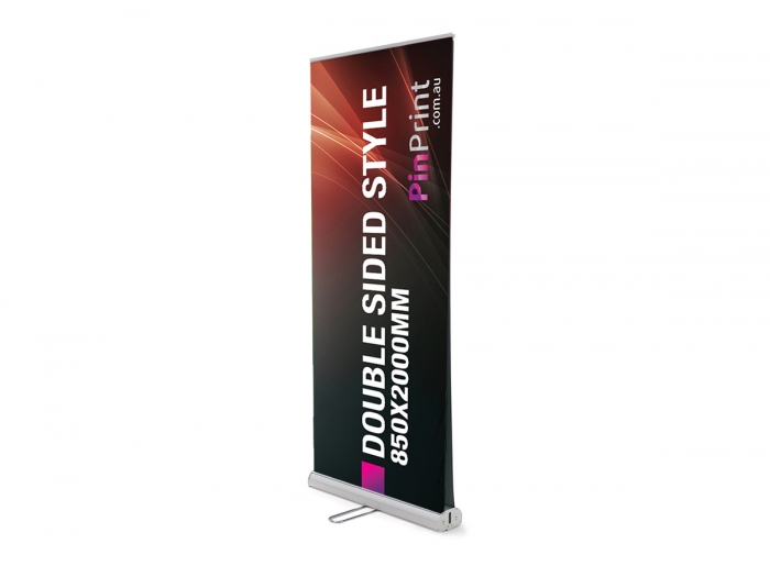 850x2000mm Double sided Pull Up Banner
