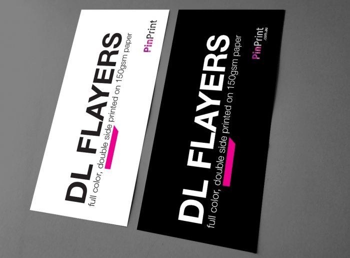 DL Flyer / Full Color, Double Side Printed